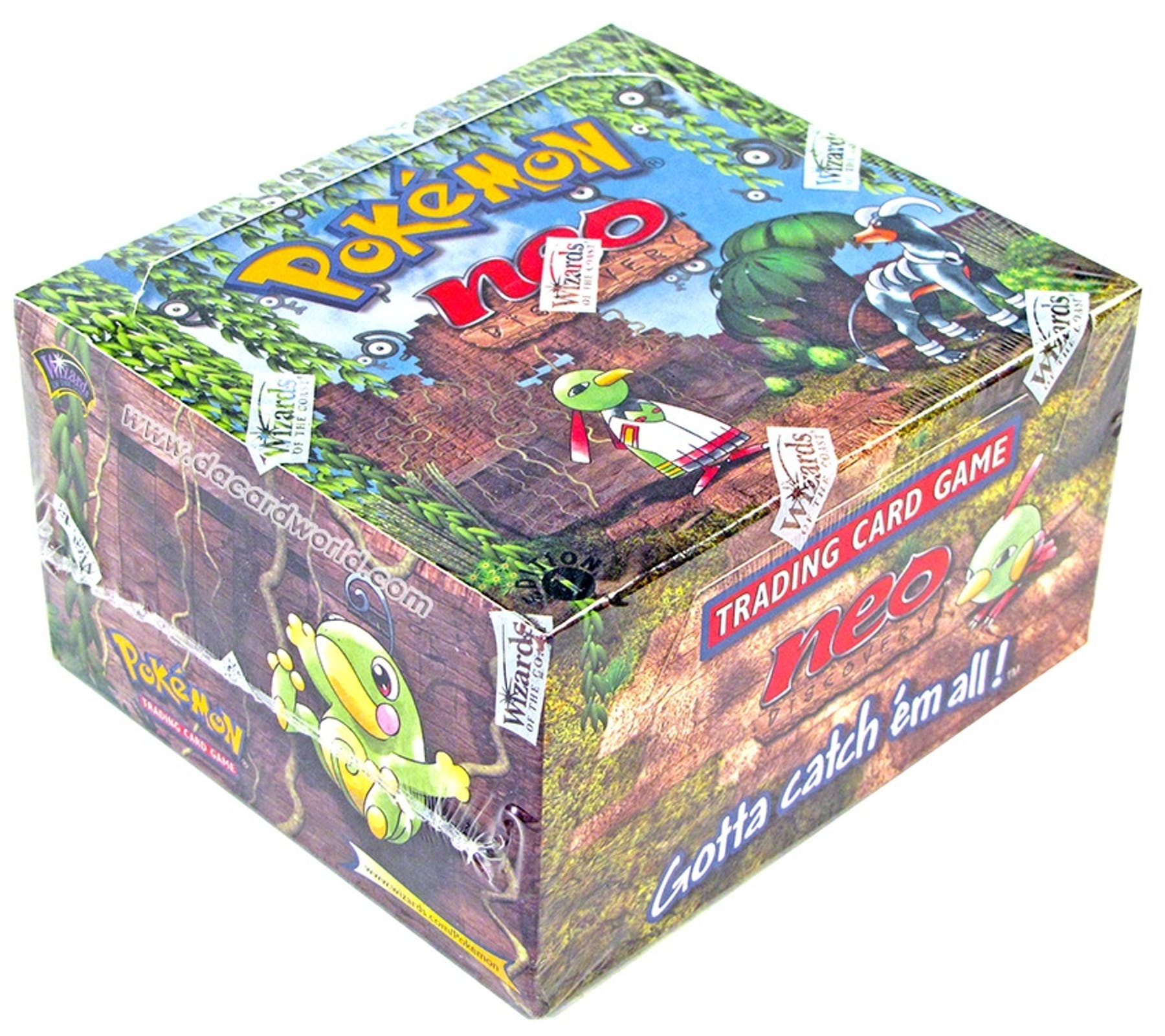 Pokemon Neo 2 Discovery 1st Edition Booster Box