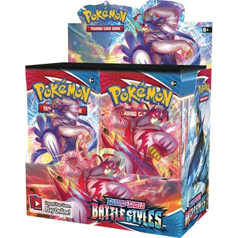 Pokemon Sword & Shield: Battle Styles Booster 6-Box Case (Presell)
