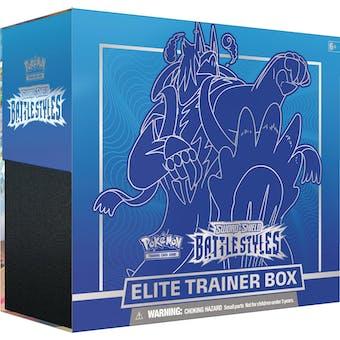 Pokemon Sword & Shield: Battle Styles Elite Trainer 10-Box Case (Presell)