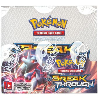 Pokemon XY BREAKthrough Booster Box