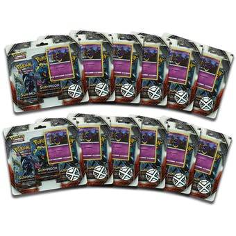 Pokemon Sun & Moon: Burning Shadows 3 Booster Pack Blister (12 Packs = Same as 1 Booster Box!)