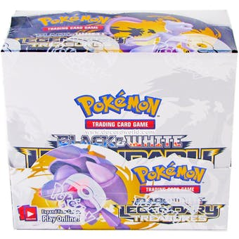 Pokemon Black & White: Legendary Treasures Booster Box