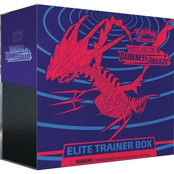 Pokemon Sword & Shield: Darkness Ablaze Elite Trainer Box
