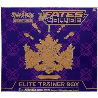 Pokemon XY Fates Collide Elite Trainer Box