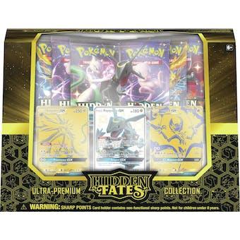 Pokemon Hidden Fates Ultra-Premium Collection 2-Box Case