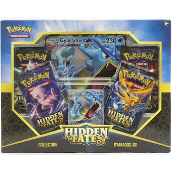 Pokemon Hidden Fates Collection Gyarados-GX Box