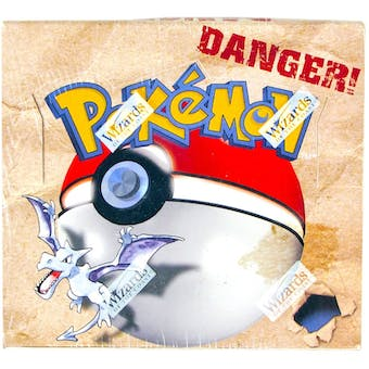 Pokemon Fossil Unlimited Booster Box