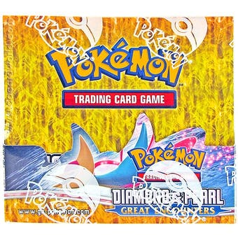 Pokemon Diamond & Pearl Great Encounters Booster Box
