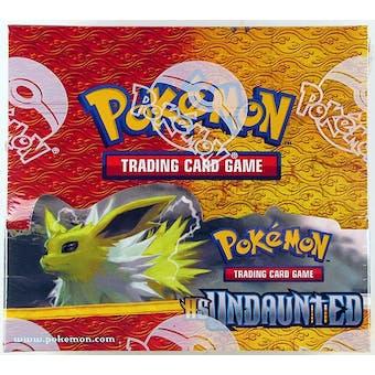 Pokemon HeartGold & SoulSilver Undaunted Booster Box