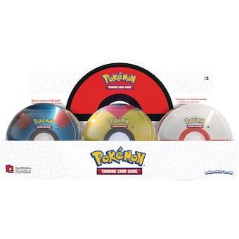 Pokemon Poke Ball Spring 2021 6-Tin Case