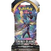 Pokemon Sword & Shield: Rebel Clash Sleeved Booster Pack