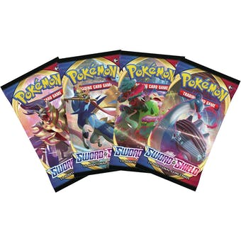 Pokemon Sword & Shield Booster Box - 3 Box Lot