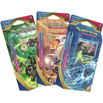 Pokemon Sword & Shield Theme Deck Set of 3