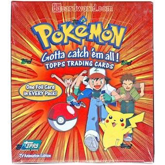 Pokemon TV Animation Series 1 Card Box (1999 Topps)
