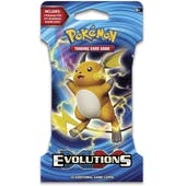 Pokemon XY Evolutions Sleeved Booster Pack