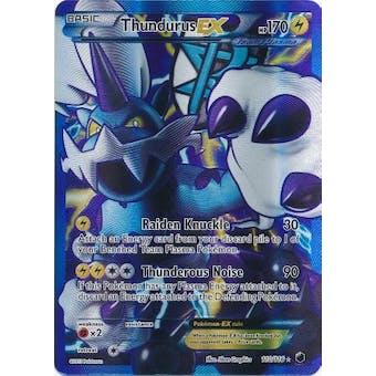 Pokemon Plasma Freeze Single Thundurus EX 110/116