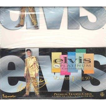 Elvis The Platinum Collection Volume 1: The 50's Box (Inkworks - 2006)