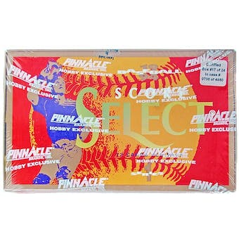 1994 Score Select Series 1 Baseball Hobby Box