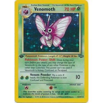 Pokemon Jungle Single 1st Edition Venomoth 13/64