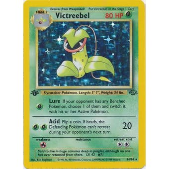 Pokemon Jungle Single 1st Edition Victreebel 14/64 - NEAR MINT (NM)