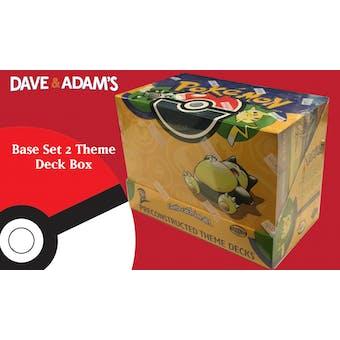 WOTC Pokemon Base Set 2 Precon Theme Deck Box (Sealed)