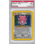 Pokemon Neo Revelation Blissey 2/64 PSA 9