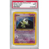 Pokemon Neo Revelation 1st Edition Single Celebi 3/64 - PSA 9