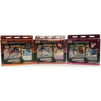 Pokemon Champion's Path Pin Collection Series 2 - Set of 3