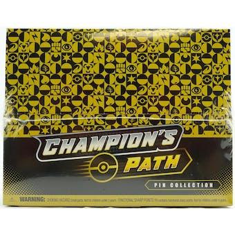 Pokemon Champion's Path Pin Collection Series 2 Box