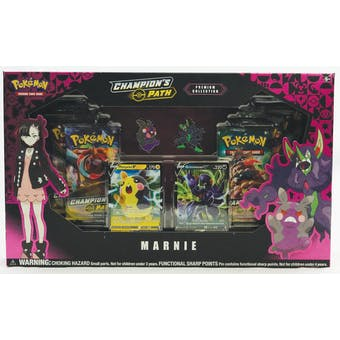 Pokemon Champion's Path Premium Collection Marnie Box