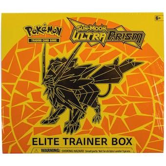 Pokemon Sun & Moon: Ultra Prism Dusk Mane Elite Trainer Box