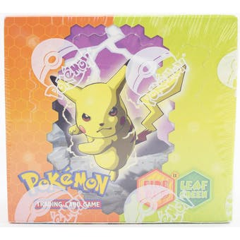 Pokemon EX Fire Red Leaf Green Booster Box