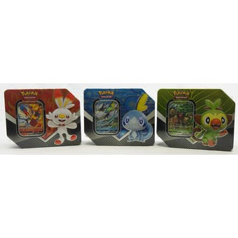 Pokemon Galar Partners Tin - Set of 3