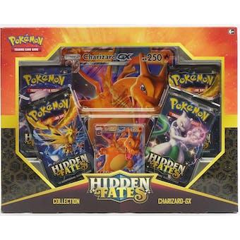 Pokemon Hidden Fates Collection Charizard-GX Box