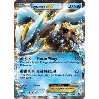 Pokemon Next Destinies Single Kyurem EX 38/99- - NEAR MINT (NM)