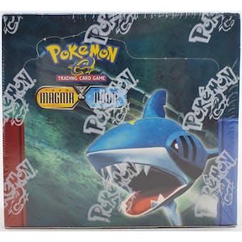 Pokemon EX Team Magma vs Team Aqua Booster Box