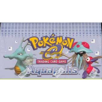 Pokemon EX Aquapolis Precon Theme Deck Box