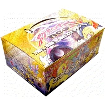 Pokemon Neo 1 Genesis Japanese Booster 60 Pack Box