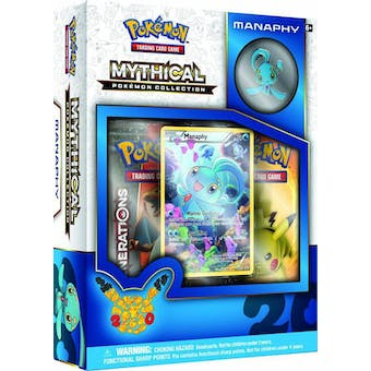 Pokemon: Mythical Collection Box (Manaphy)