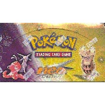 WOTC Pokemon Neo 4 Destiny Precon Theme Deck Box (Sealed)