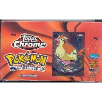 Pokemon Series 1 Trading Card Box (2000 Topps Chrome)