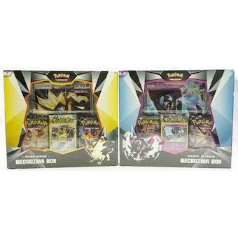 Pokemon Dusk Mane/Dawn Wings Necrozma Box - Set of 2 (Ultra Prism & Forbidden Light!)