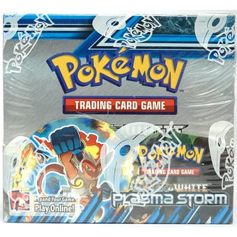 Pokemon Black & White: Plasma Storm Booster Box