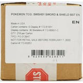 Pokemon Sword & Shield Booster 6-Box Case