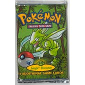 Pokemon Jungle 1st Edition Booster Pack - Scyther Art HEAVY WOTC