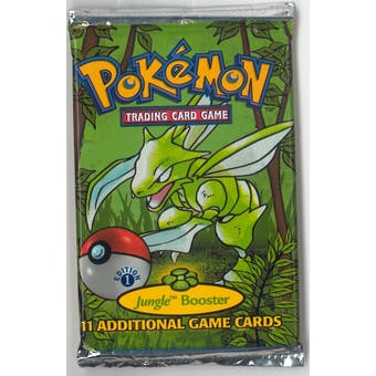 Pokemon Jungle 1st Edition Booster Pack (Unsearched) (Reed Buy)