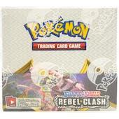Pokemon Sword & Shield: Rebel Clash Booster Box