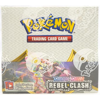 Pokemon Sword & Shield: Rebel Clash Booster Box