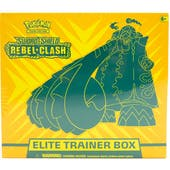 Pokemon Sword & Shield: Rebel Clash Elite Trainer Box