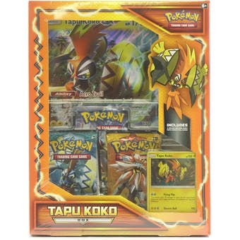 Pokemon Tapu Koko Box (SM Base, Guardians Rising & Fates Collide)